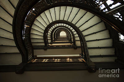 Photograph - Rookery Stairs by David Bearden