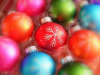 Decorated For Christmas Photograph - Room For One More by Karen Cook