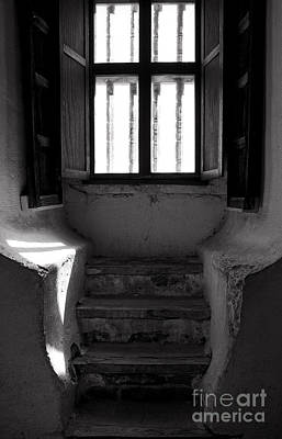 Photograph - Room With A View In Black And White by Lee Craig