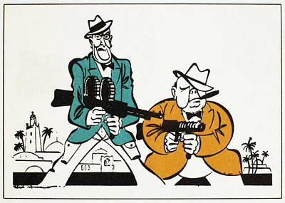 Roosevelt & Churchill, 1942 Art Print by Granger