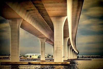 Florida Bridge Photograph - Roosevelt Bridge-1 by Rudy Umans