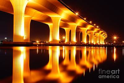 Photograph - Roosevelt Bridge by Lynda Dawson-Youngclaus