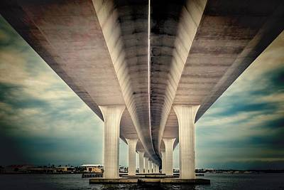 Photograph - Roosevelt Bridge by Rudy Umans
