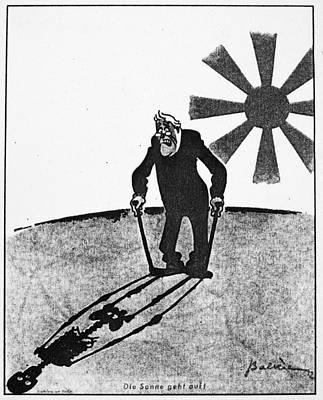 Roosevelt Cartoon, 1941 Art Print by Granger