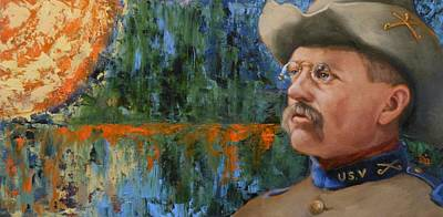 Painting - Roosevelt by Deborah Allison