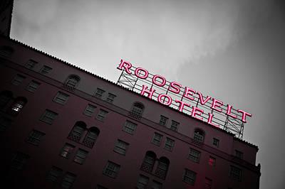 Roosevelt Hotel Art Print