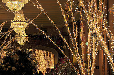 Photograph - Roosevelt Hotel Christmas by Brian Hoover