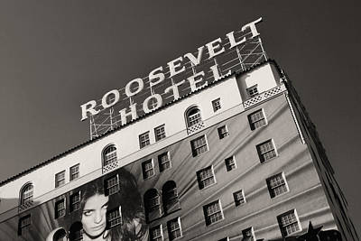 Photograph - Roosevelt Hotel Hollywood by Roger Passman