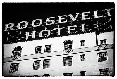 Photograph - Roosevelt Hotel by John Rizzuto