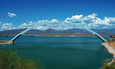Photograph - Roosevelt Lake 1 - Arizona by Dany Lison