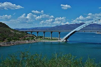 Photograph - Roosevelt Lake 3 - Arizona by Dany Lison