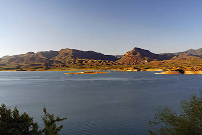 Dam Photograph - Roosevelt Lake Arizona - The American Southwest by Christine Till
