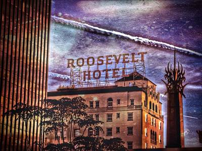 Photograph - Roosevelt Retro by Mark David Gerson