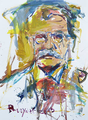 Painting - Roosevelt by Robert Joyner