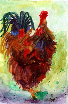 Roosta  Art Print by Anderson R Moore