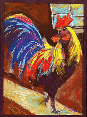 Rooster B Original by Diana Tripp