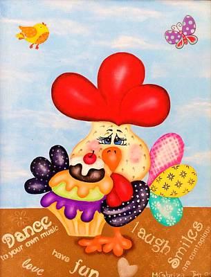Rooster Original by Maria Cabriza