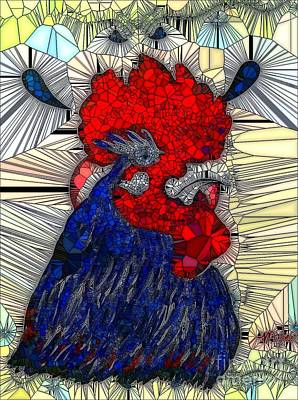 Painting - Rooster  by Saundra Myles