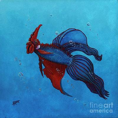 Roosterfish IIi Original by Fred-Christian Freer