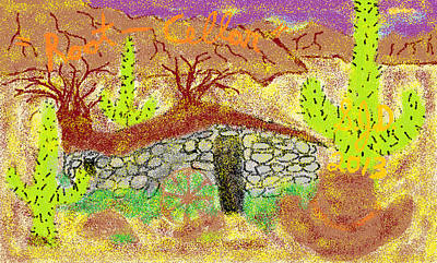 Root Cellar Art Print by Joe Dillon