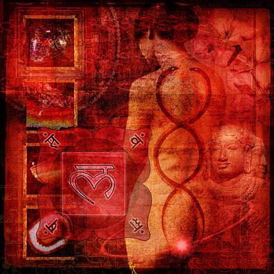 New Mind Digital Art - Root Chakra by Mark Preston