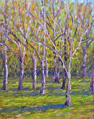 Painting - Root River Parkway Trees by Anthony Sell