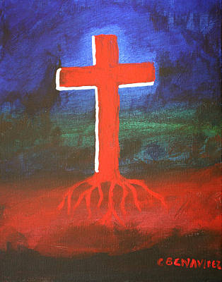 Painting - Rooted by Charles Benavidez