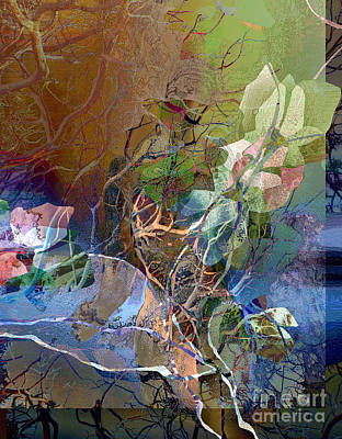 Digital Art - Roots And Branches by Ursula Freer