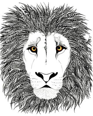 Rasta Drawing - Roots by Ashley Ann Austin