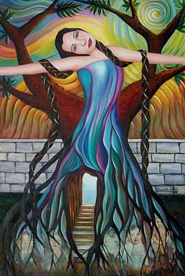 Painting - Roots by Claudette Dean