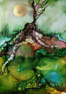 Tree Roots Painting - Roots by Donna Pierce-Clark