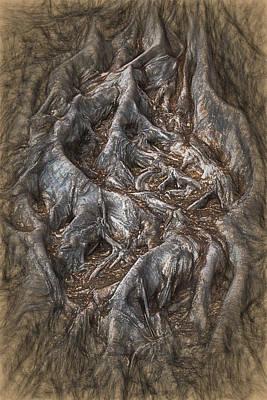 Roots Art Print by John Haldane