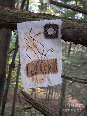 Tapestry - Textile - Roots by Linda Marcille
