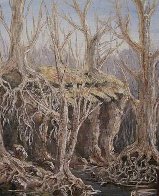 Art Print featuring the painting Roots by Megan Walsh