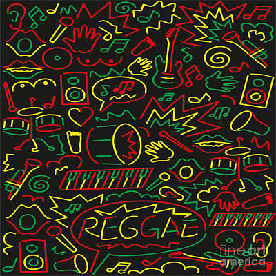 Ascension Digital Art - Roots Rock And Reggae by Respect the Queen