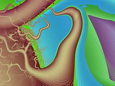 Genealogy Digital Art - Roots by Tadeusz Jurgielewicz