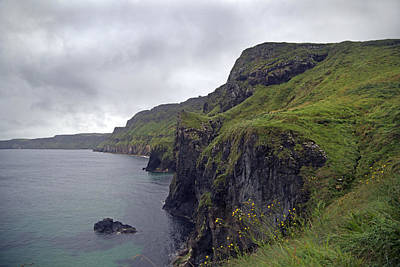 Redes Photograph - Rope Bridge Paradise Ireland by Betsy Knapp