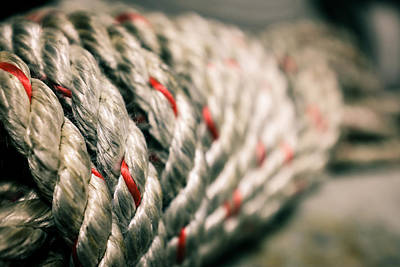 Photograph - Rope Bundle by Chris Bordeleau
