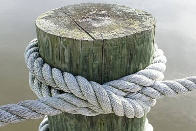 Photograph - Rope by Jenny Hudson