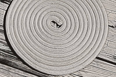 Photograph - Rope by Karol Livote