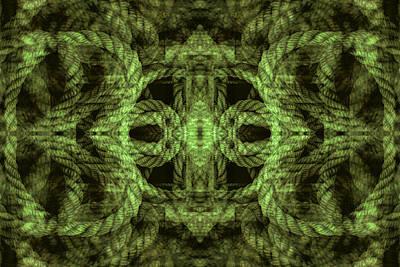 Digital Art - Rope Mantra 27 by Lynda Lehmann