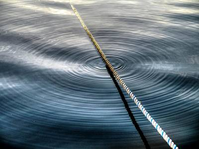 Photograph - Rope Ripples by Peter Mooyman