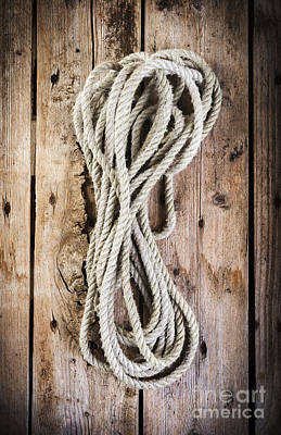 Farmhouse Rights Managed Images - Rope Royalty-Free Image by THP Creative