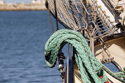 Photograph - Ropes And Rigging by Michelle Wrighton