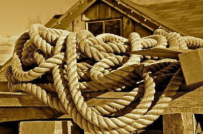 Ropes Of The Fishing Industry Original