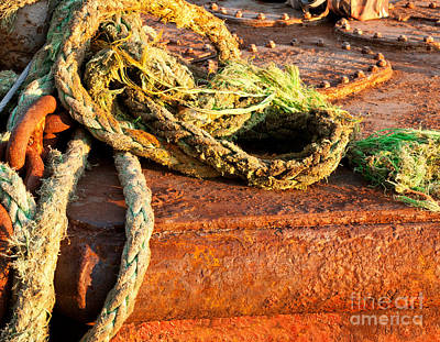 Photograph - Ropes by Rick Piper Photography