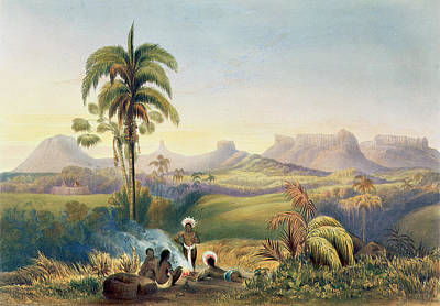 Roraima, A Remarkable Range Art Print by Charles Bentley