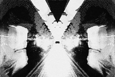 Convergence Digital Art - Rorschach #1 by Han Zhao