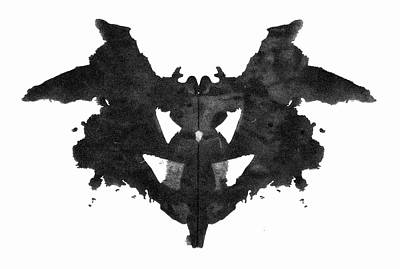Psychiatry Painting - Rorschach Inkblot, 1921 by Granger