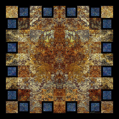 Rorshach Yantra Nine Oh Four Art Print by Bruce Ricker